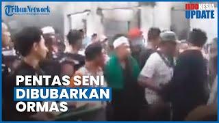 Viral Video Pembubaran Acara Kesenian Kuda Kepang di Medan oleh Ormas, Seorang Wanita Sempat Diludah