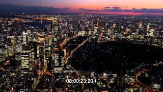 4K東京空撮素材TokyoAerial4Kfootage