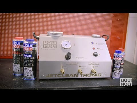 LIQUI MOLY Jetclean Tronic II - Professional cleaning device for injection systems. (Art. Nr. 29001)