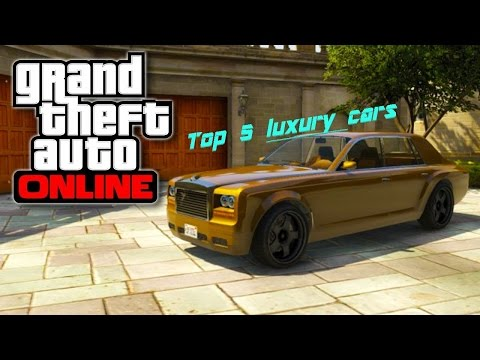 GTA Online : Top 5 Luxury Cars In GTA Online