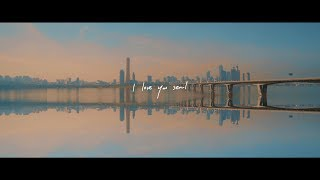 RM 'seoul (prod. HONNE)' Lyric Video