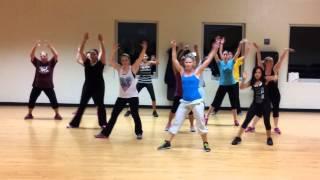 """Live it Up"" by Jennifer Lopez (feat. Pitbull) Dance Fitness Choreography"
