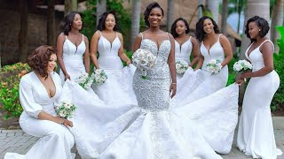 Mind Blowing Bridesmaid Styles 2019 #African Women Dresses #Fashion Gallery
