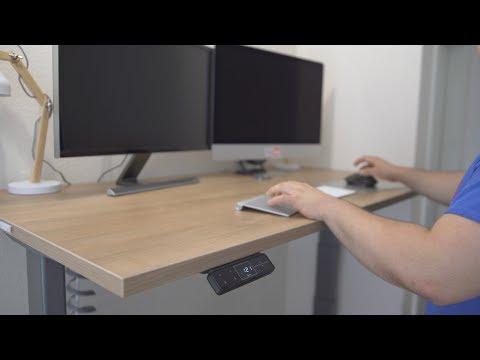 Elektrisch Höhenverstellbarer Schreibtisch! Dorsalo XBHM im Test!
