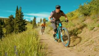 Sun Valley Bald Mountain's Lupine Freeride Trail