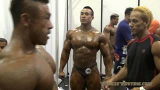 IFBB Arnold Classic Asia 2016 Backstage Video (Amateur Bodybuilding)