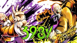 Hero & Extreme Master Roshi 398% || Dragon Ball Legends