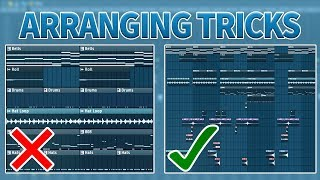 Arrangement Tricks To Make Your Beats More Interesting!