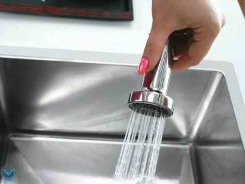 Video for Chrome Pull-Out Spray Kitchen Faucet