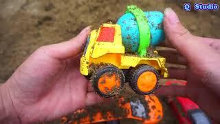 Автомобильные Игрушки Для Детей - Экскаваторный Грузовик, Заботящийся О Песке В Строительстве