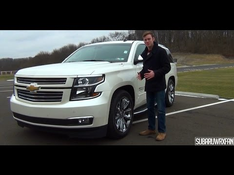 Review: HSV Supercharged 2015 Chevrolet Tahoe Sport Edition