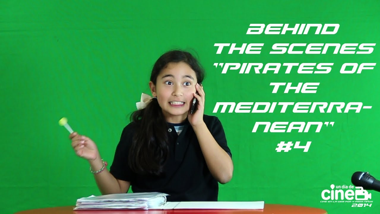 "Behind the Scenes: ""Kids in Black. Pirates of the Mediterranean"" #4"