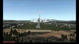 preview picture of video 'FSX - Landung in Graz'