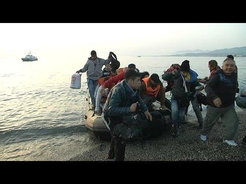 Méditerranée: de plus en plus de migrants débarquent sur l'île grecque de Kos