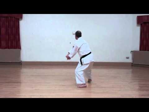 Wado Karate Pinan Godan performed by Neil Pottinger
