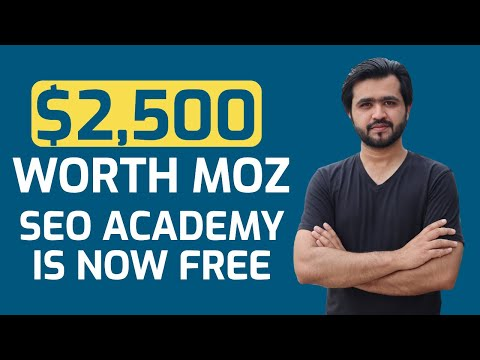 $2500 SEO Course for Free | MOZ Academy is Free Now - YouTube