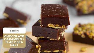 Kelsey Nixons Chocolate Caramels With Flaky Sea Salt