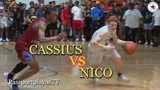 Nico Mannion GOES OFF vs Cassius Stanley and Team Why Not!!!