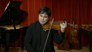 Bernhard Simon Fendt I violin, London circa 1830