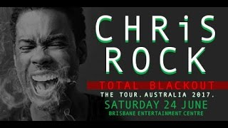 Chris Rock: Total Blackout Review   Manchester Arena