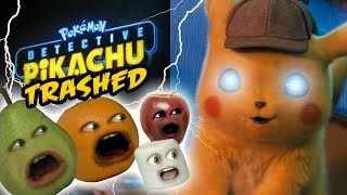 Annoying Orange - Detective Pikachu Trailer TRASHED!!