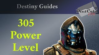 Destiny 2 - How To get to 305 Power (Max Level) on PC