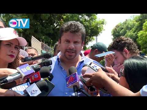 Alcaldía de Managua realiza recorrido para evaluar daños ocasionados por las lluvias