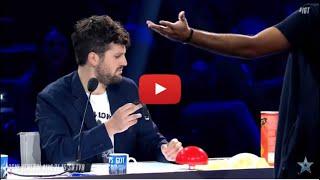 """Italia's Got Talent, Giudici """"stregati"""" Dalle Magie Di Andrea Paris Che Sfida Frank Matano"""