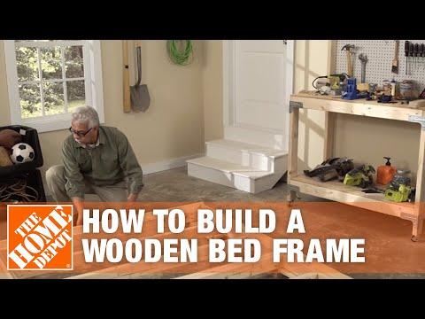 DIY Bed Frame: How to Make a Wooden Bed Frame
