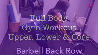 FULL BODY GYM DAY WORKOUT!