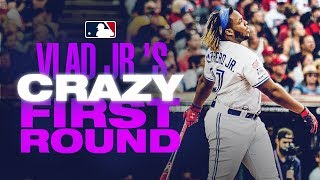 Vlad Guerrero Jr. hits record-setting 29 home runs in 1st round of Home Run Derby