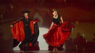PASO DOBLE (Zorro) - Zeynep Deniz DÖNMEZ ve Deniz Erkan SANCAK - Latino Yılsonu Gösterisi 2015