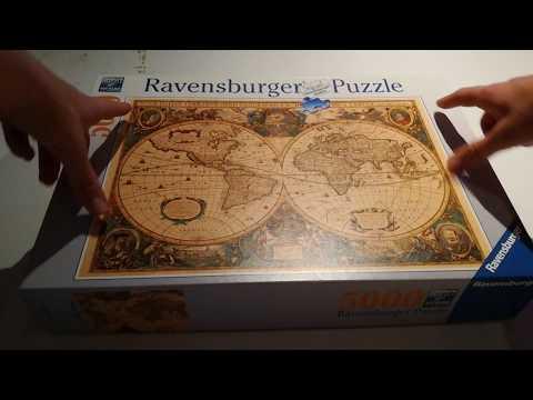 Historische Weltkarte Puzzle - 5000 Teile