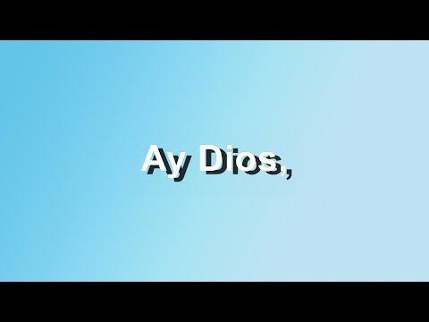 Ay Dios - Franco de Vita Feat. Vanesa Martin - Letra - HD