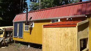 Shed to house off grid water system
