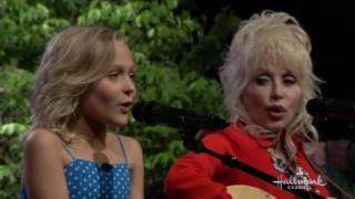 Alyvia Alyn Lind and Dolly Parton Singing Angel Hill Live on Home & Family, May 31, 2016