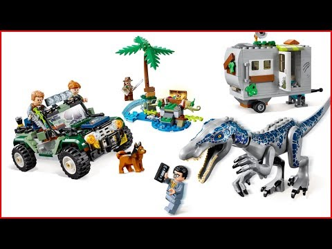 LEGO JURASSIC WORLD 75935 Baryonyx Face Off The Treasure Hunt Construction Toy - UNBOXING