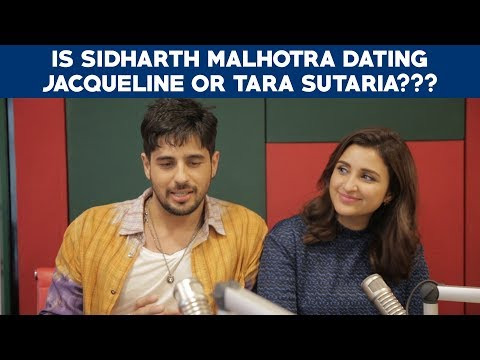Is Sidharth Malhotra dating Jacqueline or Tara Sutaria??? Jabariya Jodi