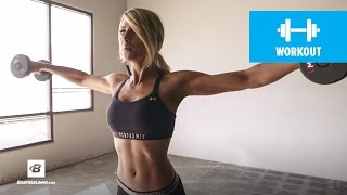 Quick Upper-Body Workout | Danielle Belanger by Bodybuilding.com