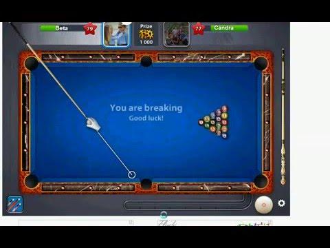Video Trik Cara bermain 8 Bll Pool di Facebook, agar selalu menang