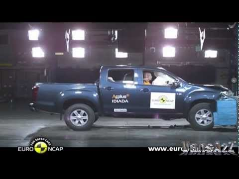 Isuzu D-Max 2012 - Euro NCAP Crash Test