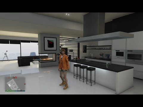 GTA V Online : All Eclipse Tower Penthouse interior Styles ! NEW