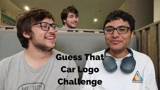 Guess That Car Logo Challenge Ft. Dean Morris & Ceri Evans | #InternationalVloggingDay