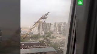 Астана  Ураган! Кадры с места!