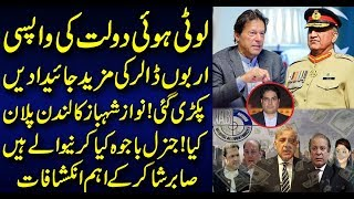 Looted Money has started to return back to Pakistan   Nawaz Shahbaz London Plan.