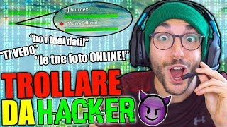 FINGERSI UN HACKER ONLINE! - Fortnite ITA Funny Moments