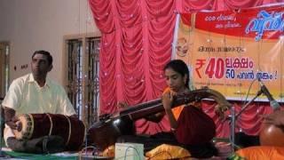 Veena performance by Kumari Saranya G. Mangal