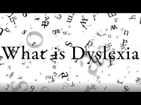 Screenshot of video: What is it like to have Dyslexia?