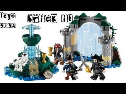 Vidéo LEGO Pirates des Caraïbes 4192 : La fontaine de Jouvence