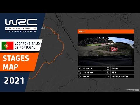 WRC 2021 第4戦ラリー・ポルトガル 全SSコース紹介動画